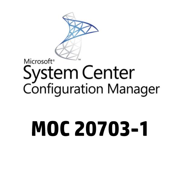 Configuration Manager MOC 20703-1